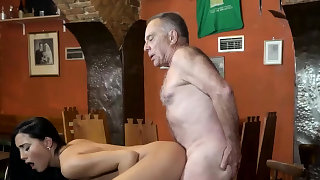 Old mature cum..