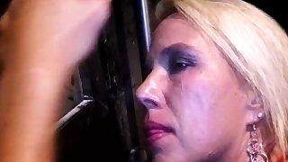 blonde mummy..